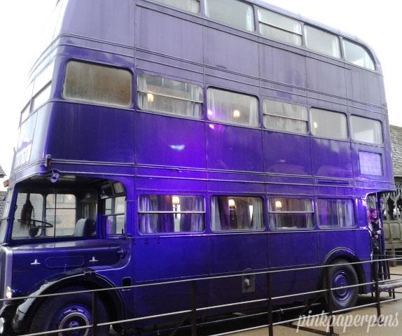 The triple-decker Knight Bus.