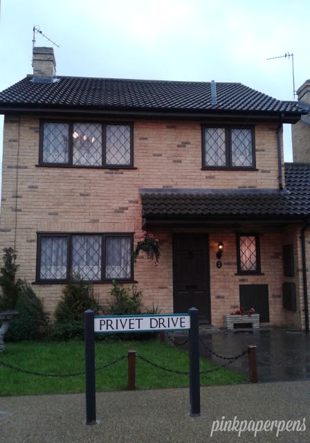 You can get inside the Privet Drive through a guided group tour.
